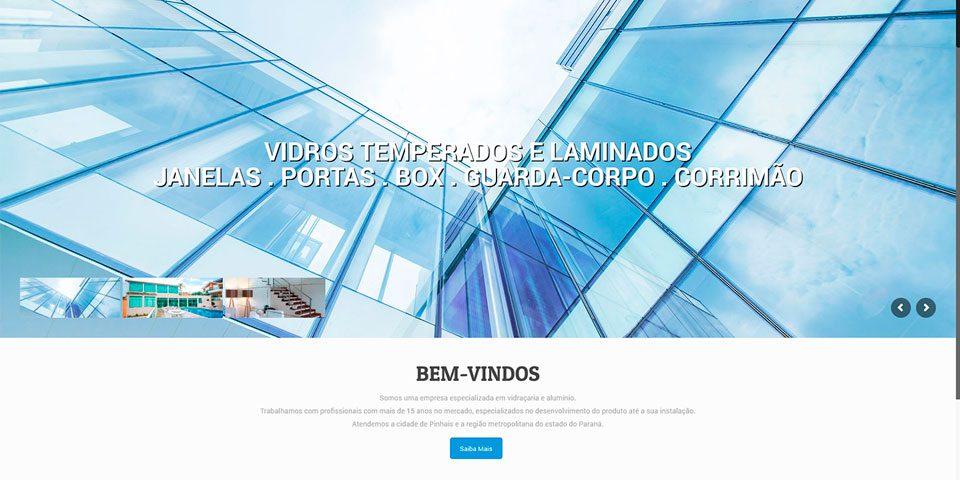 Vidraçaria Pinhais - Cover